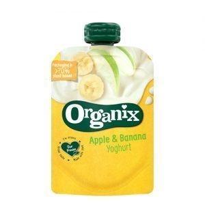 Organix Yoghurt Æble & Banan Ø - 100 G