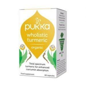 Pukka Wholistic Turmeric Gurkemeje Ø Pukka - 60 Kaps