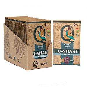 Q-Organic Q-shake Quinoa Naturel Ø - 15 G