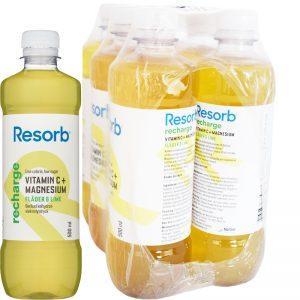 Recharge vätskeersättning Fläder & lime 6-pack - 67% rabatt