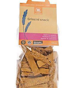 Urtekram Grissini snack spelt & sesam Ø - 125 G