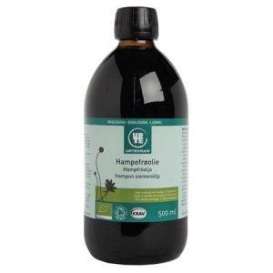 Urtekram Hampefrøolie Ø Koldpresset - 500 ml