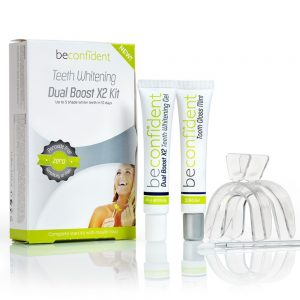 Beconfident Teeth Whitening Dual Boost X2 Kit