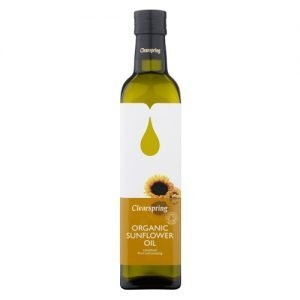 Clearspring Sunflower Oil Eko - 500 ml