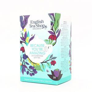 English Tea Shop Because You're Amazing Te Ø - 20 Påse