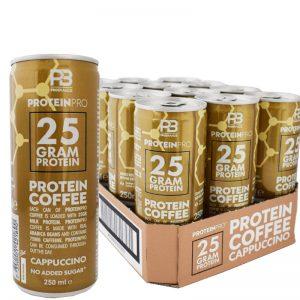 Proteinkaffe Cappuccino 12-pack - 35% rabatt