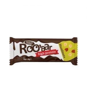 Roo bar Choko Hasselnødde Protein Ø Roobar - 40 G