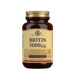 Solgar Biotin 5000 Ug - 50 Kaps