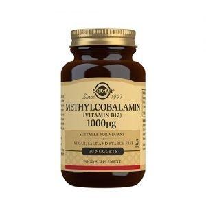 Solgar Methylcobalamin 1000 Ug (B12) - 30 Tabl
