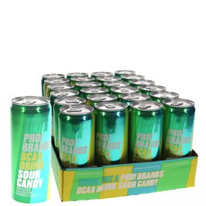 BCAA dryck Sour candy 24-pack - 50% rabatt