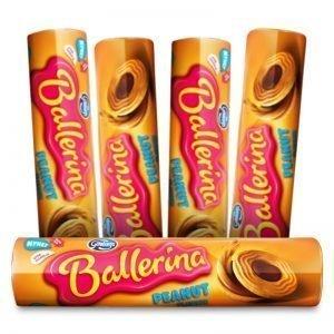 Ballerina Peanut Flavour 5-pack - 50% rabatt