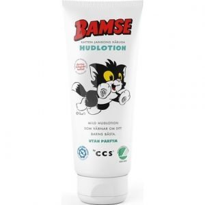 Bamse Katten Janssons Härliga Hudlotion 200 ml