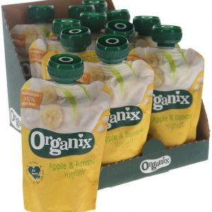 Eko Mellanmål Yoghurt, Äpple & Banan 12-pack - 47% rabatt