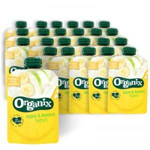 Eko Mellanmål Yoghurt, Äpple & Banan 24-pack - 64% rabatt