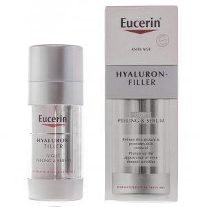 Eucerin Hyaluron Filler Night Peeling & Serum - 30 ml