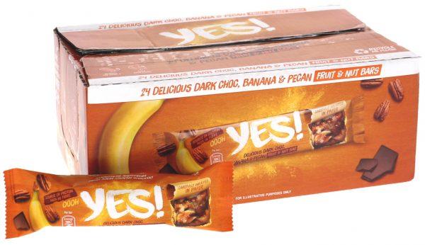 Frukt- & Nötbars Mörk Choklad 24-pack - 60% rabatt