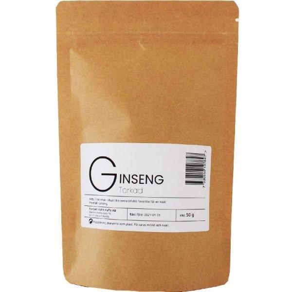 Ginseng Torkad - 36% rabatt