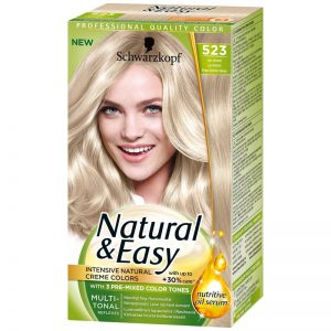 Hårfärg Natural & Easy 523 Cool Blond - 51% rabatt