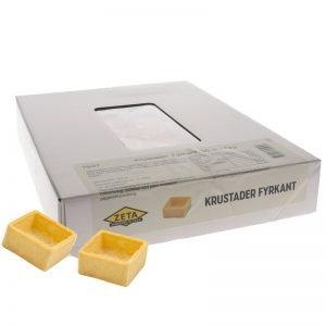 Krustader Fyrkanter 96-pack - 67% rabatt