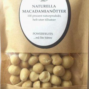 Naturella Macadamianötter av RAW-kvalitet- 250GR