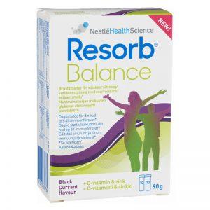 """Vätskeersättning """"Resorb Balance"""" 20-pack - 51% rabatt"""