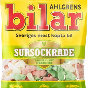 Ahlgrens Bilar Sursockrade 100g