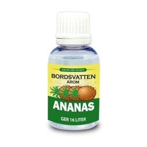 Ananas 32 ml Bordsvattenarom för kolsyrat vatten inklusive pipett