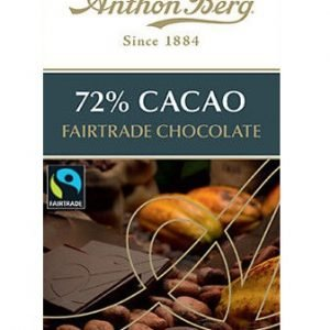 Anthon Berg Fairtrade 72% Cacao 100g