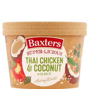 Baxters Thai Chicken & Coconut Rice Soup Pot 350g