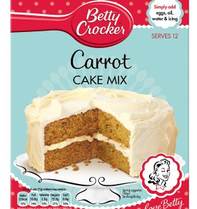 Betty Crocker Carrot Cake Mix EU 425g