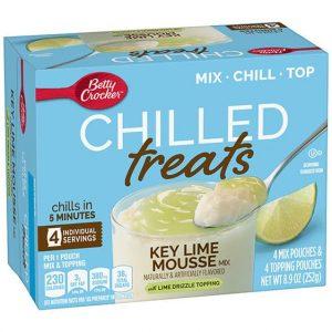 Betty Crocker Chilled Treats Key Lime Mousse Mix 252g