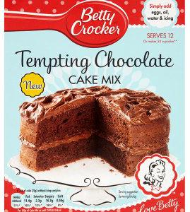 Betty Crocker Tempting Chocolate Cake Mix 425g