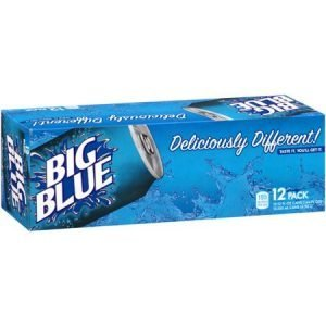 Big Blue Soda 355ml x 12pack