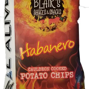 Blairs Death Rain Habanero Chips 57g