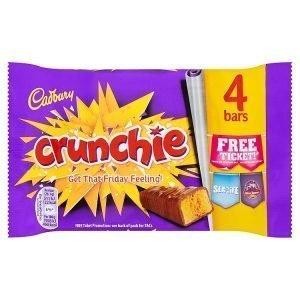 Cadbury Crunchie 4-Pack 104.4g