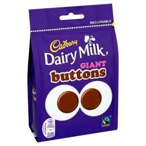 Cadbury Dairy Milk Giant Buttons 119g