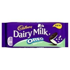 Cadbury Dairy Milk Oreo Mint Chocolate Bar 120g