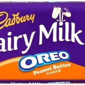 Cadbury Dairy Milk Oreo Peanut Butter Chocolate Bar 120g