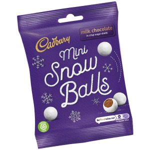 Cadbury Mini Snowballs 80g