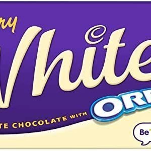 Cadbury Oreo White Chocolate 120g