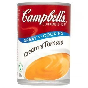 Campbells Condensed Soup Cream of Tomato 295g