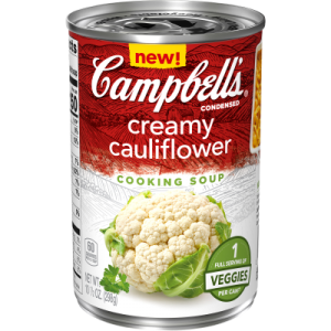 Campbells Creamy Cauliflower Cooking Soup 298g