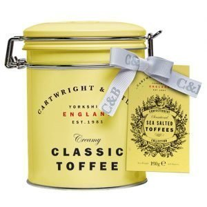 Cartwright & Butler Salted Caramel Toffees 150g