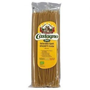 Castagno Spelt Spaghetti hvid Ø - 500 G