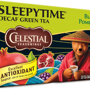 Celestial Sleepytime Green Tea Blackberry Pomegranate Tea