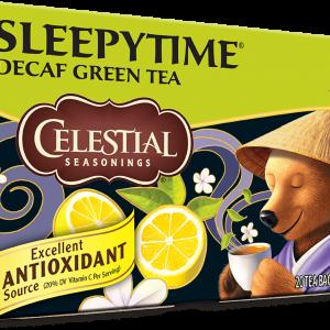Celestial Sleepytime Green Tea Lemon Jasmine