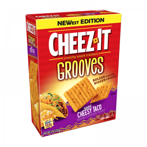 Cheez-It Grooves Loaded Cheesy Taco 255g