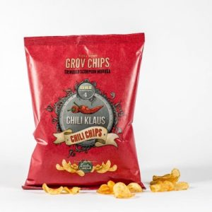 Chili Klaus Chili Chips vindstyrke 4 150g