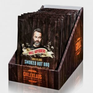 Chili Klaus Smoked Hot BBQ Grill Mix 75g