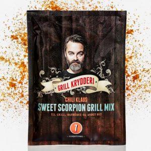 Chili Klaus Sweet Scorpion Grill Mix 75g